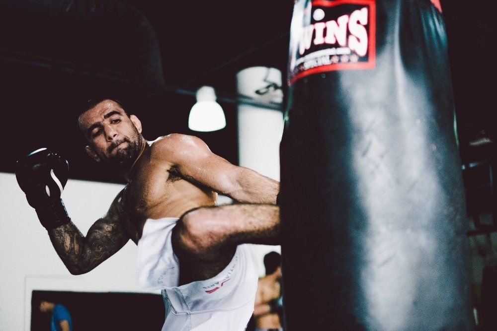 "JJ World Champion and UFC Fighter Leandro ""Brodinho"" Issa trains at Evolve MMA's Fighter's Program."