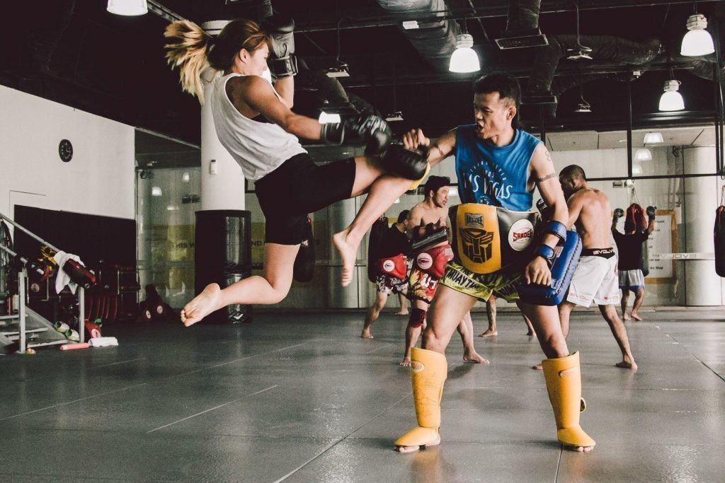 Multiple-time Muay Thai World Champion Orono Wor Petchpun teaches Muay Thai at Evolve Vacation.