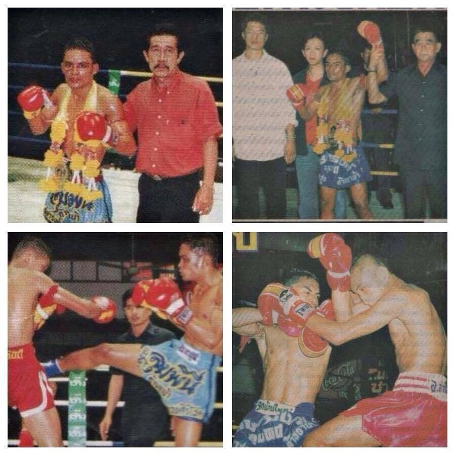 "In Thailand, Dejdamrong was given the nickname ""Fierce Eyes"" because of his intense stare during fights."