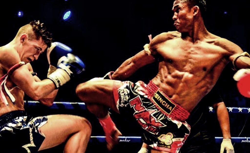 WATCH: How To Deal With An Aggressive Opponent in Muay Thai
