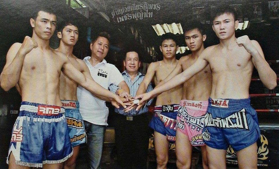 At the Petpayathai camp in Bangkok.