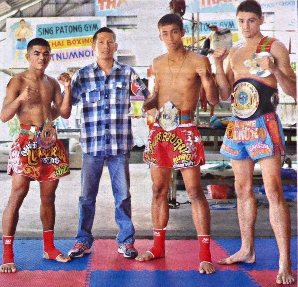 When Penek moved to Singpatong gym, he only had two training partners.