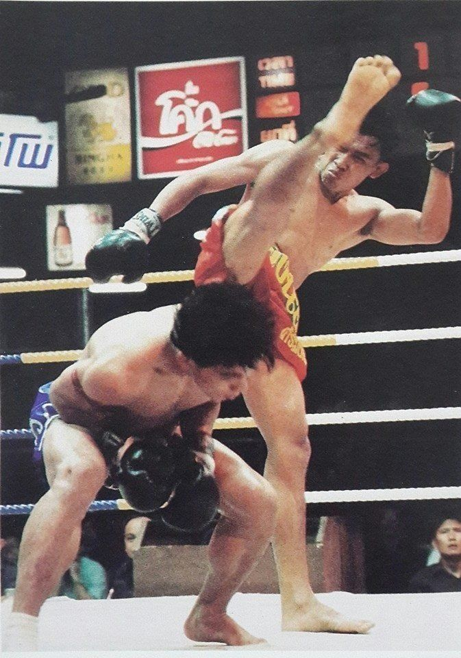 Muangfalek was known for his crazy antics in the ring.