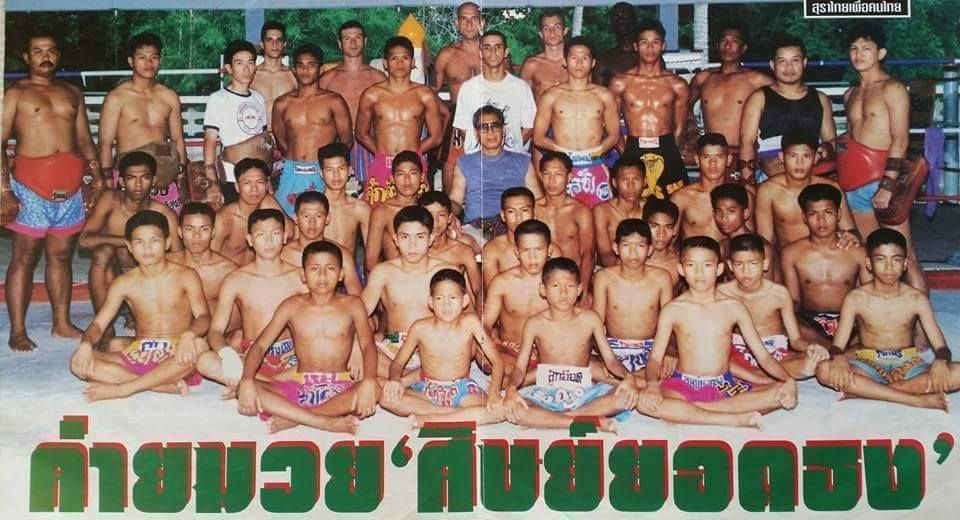 Yodteera started Muay Thai when he was 8 years old.
