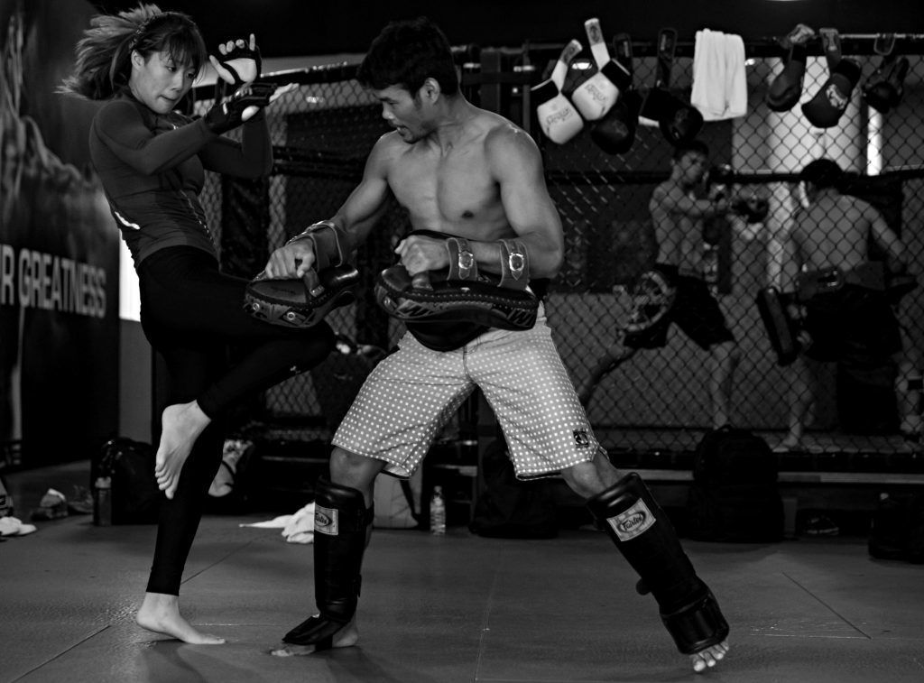 ONE Women's Atomweight World Champion Angela Lee has been training martial arts all her life.