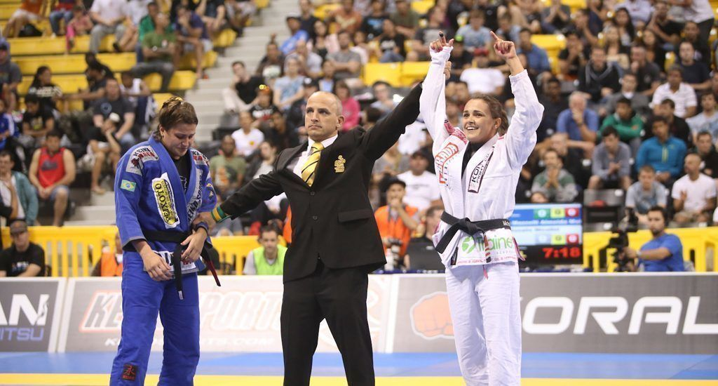 8 x BJJ World Champion Michelle Nicolini is the newest member of the Evolve Fight Team.