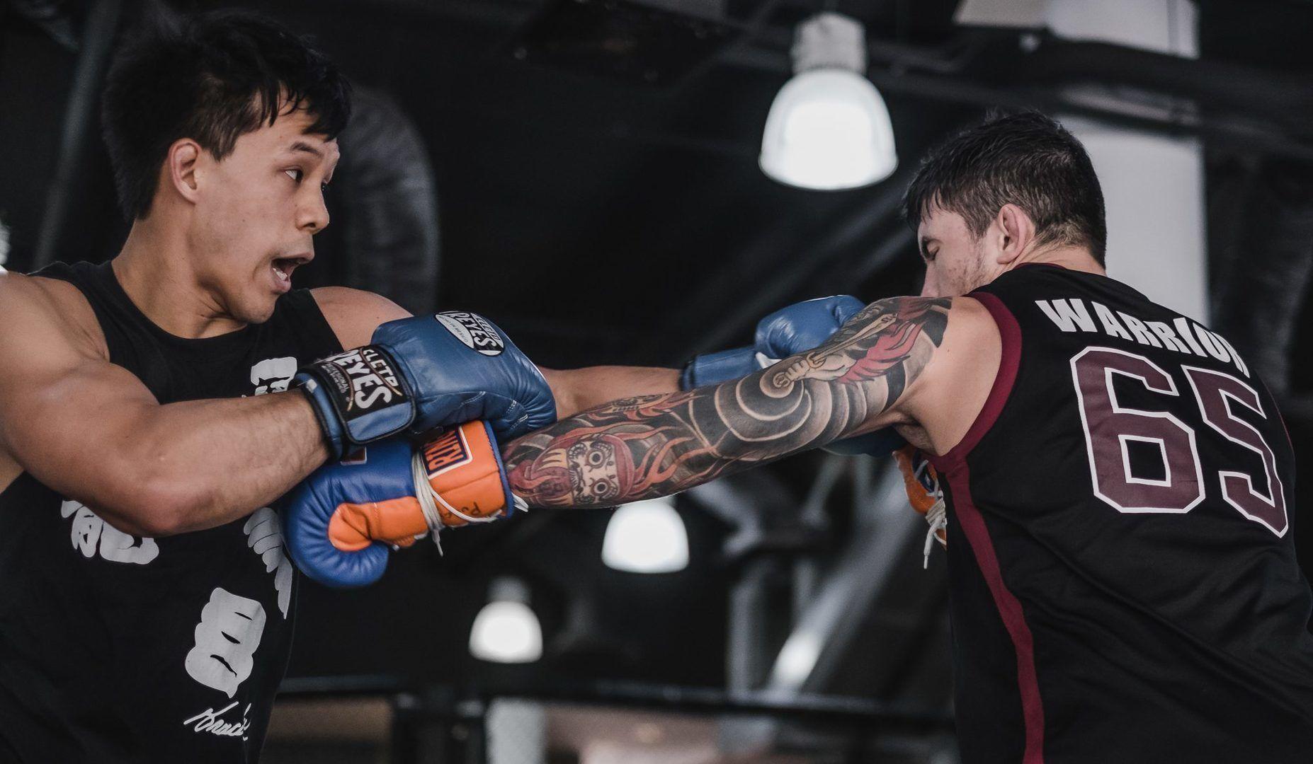 Eddie Ng Bruno Pucci Boxing